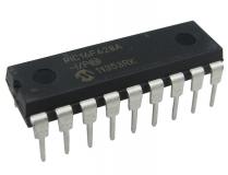 PIC16F628A-I/P, микроконтроллер 8-Бит, PIC, 20МГц, 3.5КБ (2Кx14) Flash, 16 I/O (DIP18)