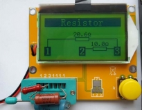 Многофункциональный измерительный тестер MTester RLC npn pnp ESR tester (M328)