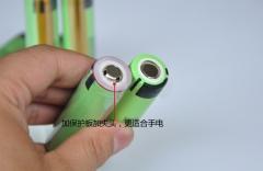 Аккумулятор NCR18650B Panasonic 3400mAh 3.7В 10.96Wh максимальный ток 5А, с защитой