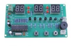 Набор для самостоятельной сборки электронных часов люкс на базе  AT89C2051 SH-E 878