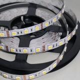 Гибкая светодиодная лента SMD 5050 60 светодиодов/метр, белый теплый цвет