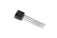 2N5551-Y (180В, 0.6A, 0.65Вт, 80МГц) n-p-n