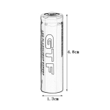 Аккумулятор Li-ion GTF 14500 3.7В 2500 мА/ч