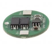 Плата контроля заряда-разряда и защиты Li-Ion аккумуляторов 3.7В типа 18650 2 MOS 8205A, диаметр 16мм