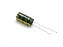 Конденсатор электролитический 1000 мкФ 16 В 8*12мм LOW ESR Chong