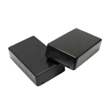 Корпус для РЭА пластиковый 100 * 60 * 25 мм (черный)