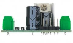 Стабилизатор напряжения на базе LM7805, IN8-24V, OUT 5V, max1.2A