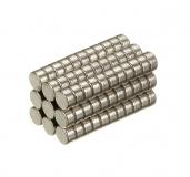Неодимовый магнит (диск) NdFeB D2 x h1 мм N50