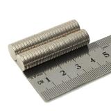 Неодимовый магнит (диск) NdFeB D10 x h2 мм N35