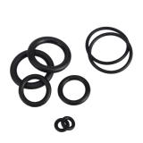 Кольцо уплотнительное резиновое диаметром 3*1мм черное