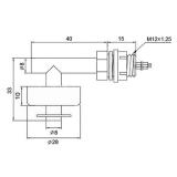Поплавковый выключатель 0.5А 100В DC