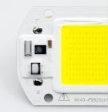 Сверхяркий COB светодиод 30 Вт белый цвет 6000-6500К 2700 Lm 220-240В AC