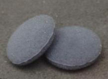 Поролоновые амбушюры для наушников 16-18мм серые (пара)