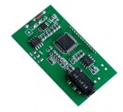 Миниатюрный безкорпусной радиоприемник FM 87-108МГц с цифровой стабилизацией частоты DSP, PLL и ЖК экраном, аудиовыход 3Вт