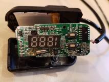 Беспроводной радиомикрофон FM 87 - 108 мГц трансмиттер с встроенным аккумулятором и LED-индикацией частоты