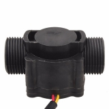 Расходомер - счетчик воды на датчике холла 1-60 л/мин 5-24 В резьба 1