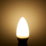 Светодиодная лампа E14 220В 3 Вт  белый теплый цвет 3200K
