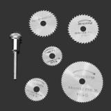 Набор дисковых пил 6 предметов 22, 25, 32, 35, 44 мм