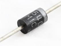 1N5408, диод выпрямительный 3А, 1000В (DO-201AD)