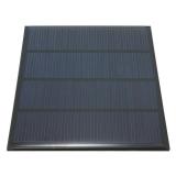 Поликристаллическая солнечная батарея 12В 0.11А 1.5Вт , размер 115 х 85 х 2 мм