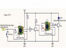 Микроминиатюрный таймер задержки 2 сек - 1000 часов 12×12мм 2-5 В