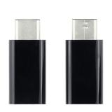 Переходник микроUSB - USB Type C 5pin ( USB3.1) черный