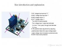 Модуль DC-DC повышающий преобразователь напряжения на базе SX1308 2-28V, 2A, импульсный регулируемый