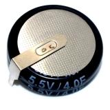 Конденсатор электролитический 5.5 В - 4Ф  (4000000 мкФ) 5.5V4F