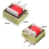 Трансформатор изолирующий аудио 1300:8 Ом EI14