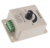 Электронный регулятор напряжения (диммер) 12-24В DC 8А 96Вт для регулирования освещенности/скорости/температуры