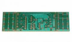 Набор для самостоятельной сборки стробоскопа (мигалок) синий + красный, на базе NE555 + CD4017