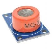 MQ-3  ( Датчик газа, паров алкоголя, этанола и т.д.) (Монтажный модуль)