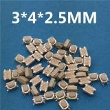 Кнопка тактовая micro smd 3 * 4 * 2,5 мм