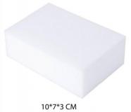 Меламиновая губка 100*70*30мм, белая, плотность 8 кг/м3