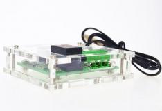 Корпус для цифрового регулятора температуры W1209, прозрачный, 58*64мм