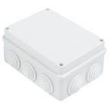 Коробка распределительная Экопласт 150х110х70мм цвет серый, IP55