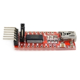 FT232RL USB to serial линия для Arduino, TTL/CMOS level, RXD / TXD индикатор, USB powered, 5V / 3.3V на выбор, miniUSB