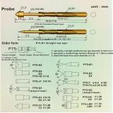 Пружинный контакт-зонд P75-G2, (16.54мм, диаметр 1.3мм, давление пружины 180г)