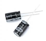 Конденсатор электролитический 10 мкФ 400 В 10*17мм ECAP