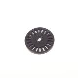 Колесо щелевое 20 пазов для оптического датчика фотопрерывателя, лазерная обработка