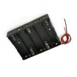 Батарейный держатель для 5 × AA элементов