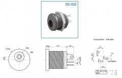 DC-022 разъем питания