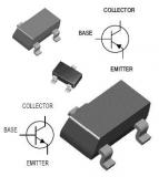 2N2222A, транзистор, 40В 0.6А (SOT-23)