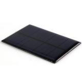 Поликристаллическая солнечная батарея 6В 0.1А 0,6Вт, размер 80 х 55 х 2.5 мм