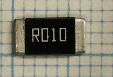 Резистор smd2512  0.01 Ом R010 10mR F 1% 1Вт