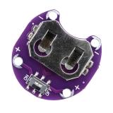 Горизонтальный держатель для батареек CR-2032, CR-2025 с выключателем для Lilypad, Arduino для вшивания в одежду