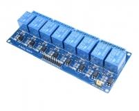 Модуль реле 8-канальный для Arduino (с оптронной изоляцией 5В, low level trigger, реле HONG WEI)