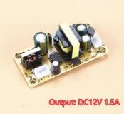 Импульсный источник питания (преобразователь AC-DC) вход AC 100В-265В, выход DC 12В 1.5А 18Вт,  67*32*25мм