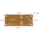 Импульсный источник питания (преобразователь AC-DC) вход AC 100В-265В, выход DC 5В 2А 10Вт,  67*32*23мм