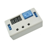Таймер задержки (включения, выключения, цикл) с индикацией, 3 разряда, питание 12В, коммутация 250В 10A AC от 0,1 сек до 999 минут, в корпусе